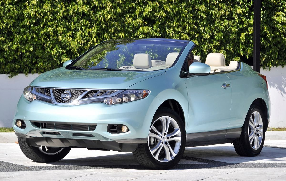 the weird nissan murano crosscabriolet is still in high demand bloomberg. Black Bedroom Furniture Sets. Home Design Ideas