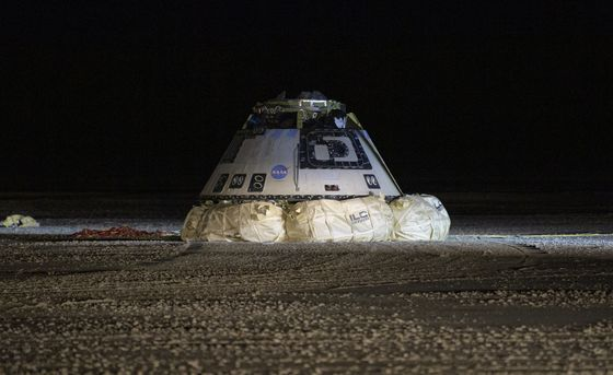 Boeing Returns Space Capsule to Earth With Much Work to Do
