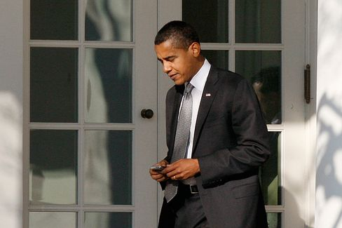 As Spying Scandal Roils Capitals, Obama Holds Tight to His Trusty BlackBerry