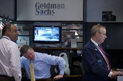 Goldman Sachs Booth at NYSE
