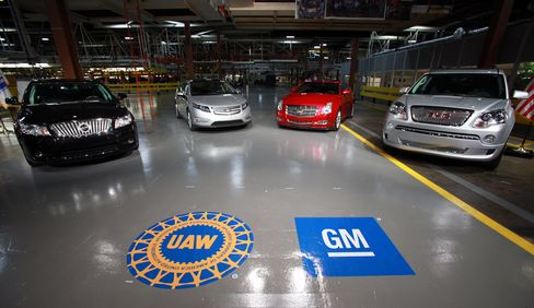 GM Seen Fueling Pension Deals as Employers Face Greece-Sized Gap