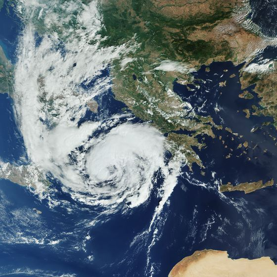 Europe's Changing Climate Viewed From Orbit Shows RisingDanger