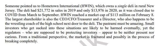 David Einhorn Sees Broken Markets in a New JerseyDeli Valued at $105 Million