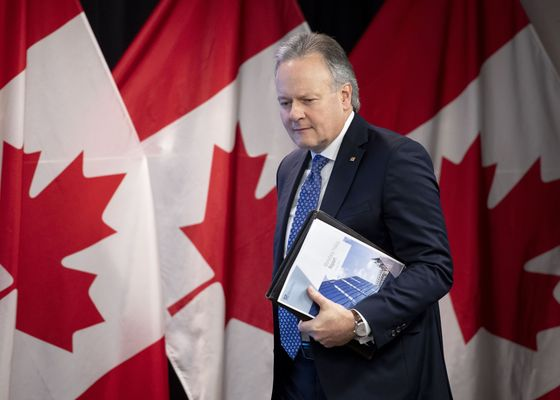 Bank of Canada's Poloz Says Rate-Hike Path Is 'Data Dependent'