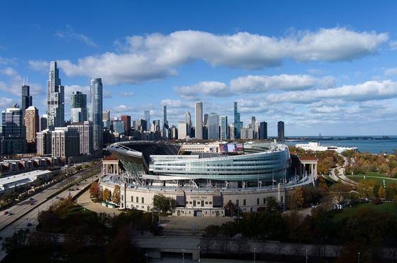 Chicago Assesses Financial Hit as Bears Mull Move to Suburbs