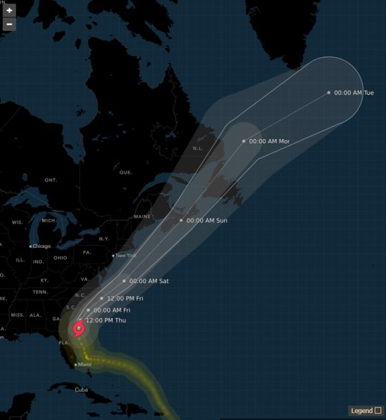 Hurricane Dorian Targets Carolinas With Expected Move Northeast