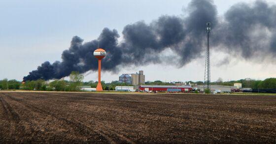 Fiery Iowa Train Derailment Delays Local Shipments Up to 3 Days