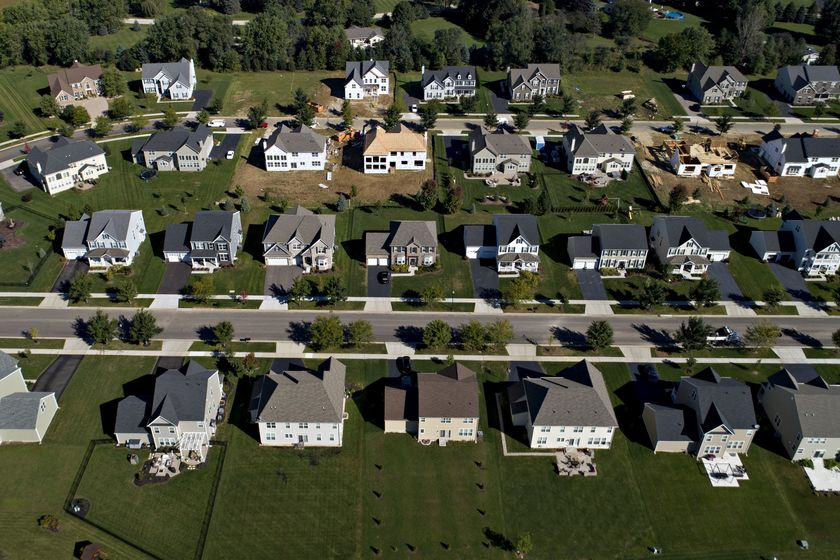 Toll Brothers Inc. Homes As Construction Spending Figures Slightly Up