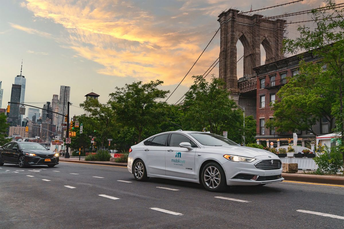 bloomberg.com - Gabrielle Coppola - Hyperdrive Daily: Mobileye's New York State of Mind
