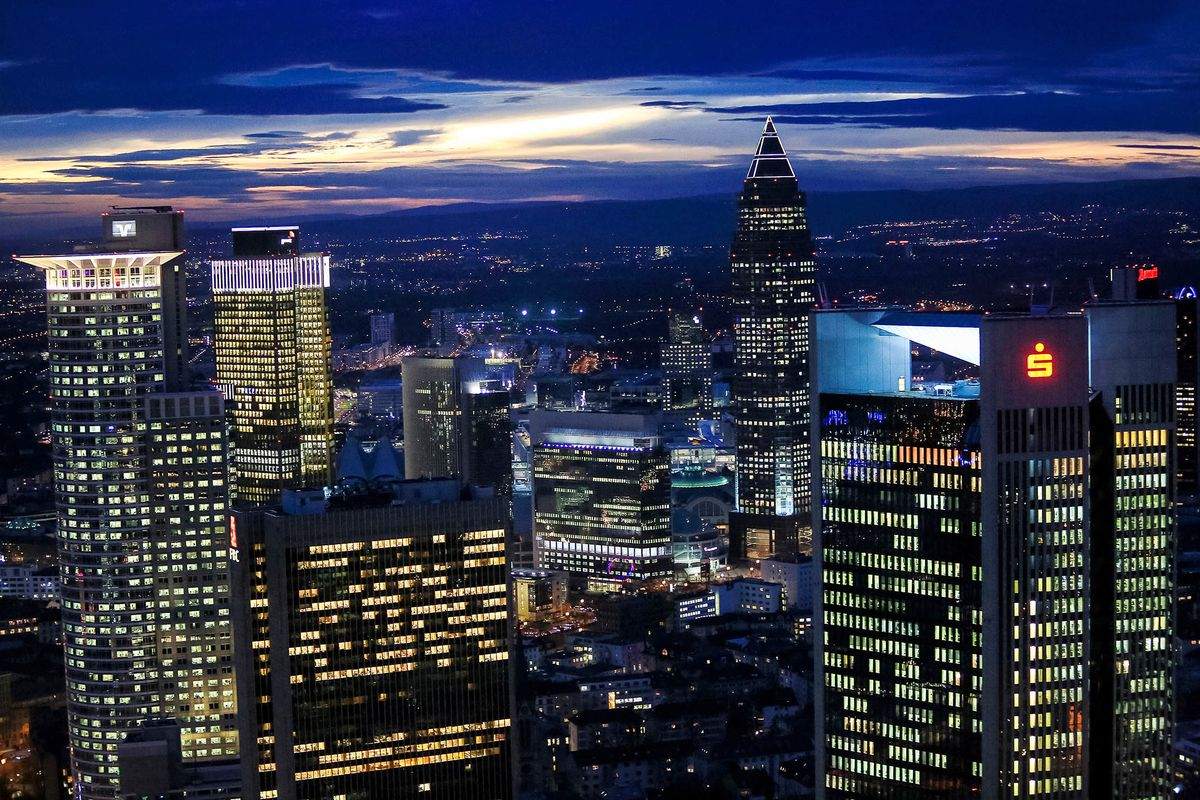 Goldman Sachs Morgan Stanley Said To Examine Frankfurt Offices Bloomberg