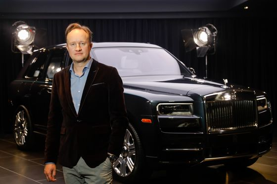 Rolls-Royce's Ex-Design Chief Hired by Chinese Limousine Maker