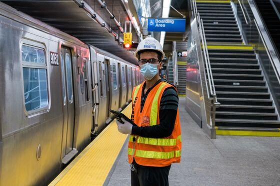 NYCSubway's Virus Killers Unleash Mops, Mist on 6,000 Cars a Night