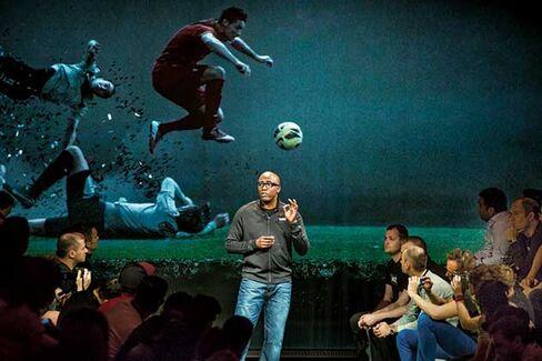 In Madrid: Nike branding chief Edwards