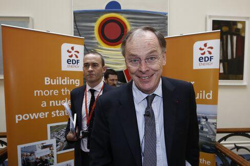 EDF Energy CEO Vincent de Rivaz