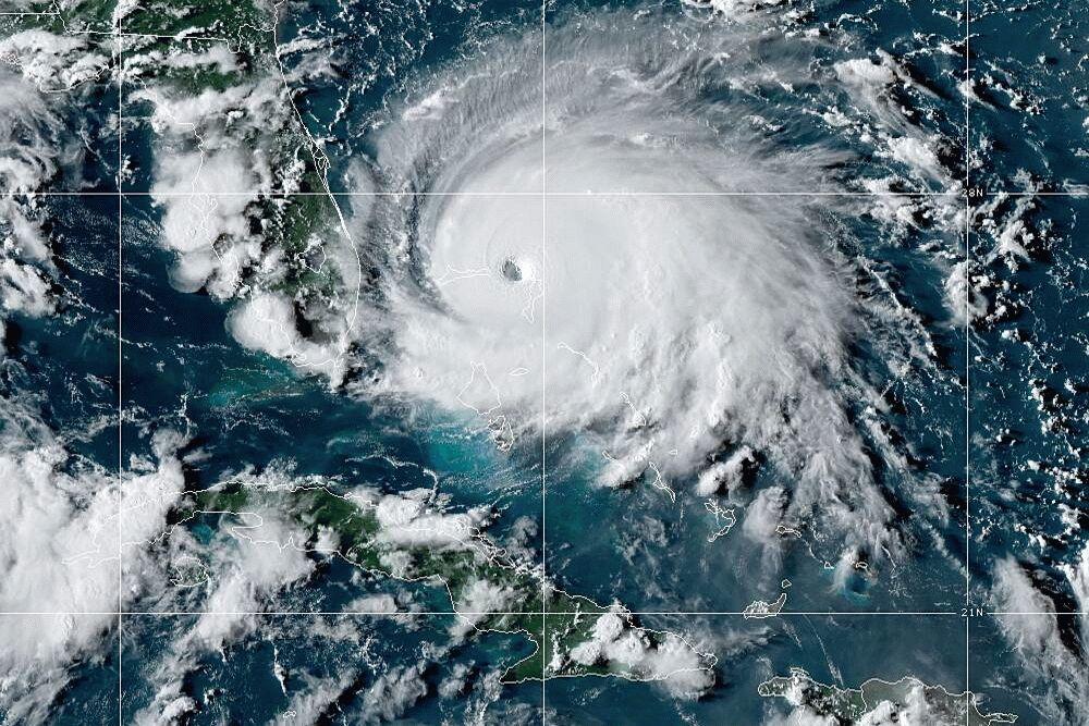 Hurricane Dorian Latest News Storm Upgraded To Category 5