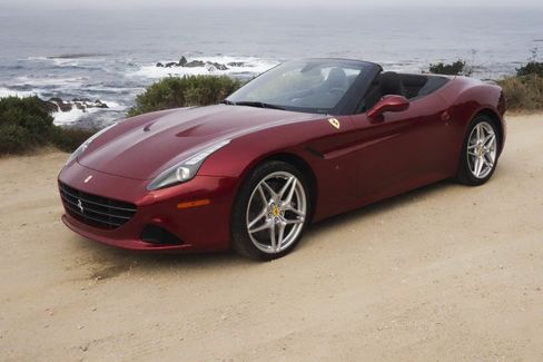 The special handling version of the Ferrari California T costs$7,277.
