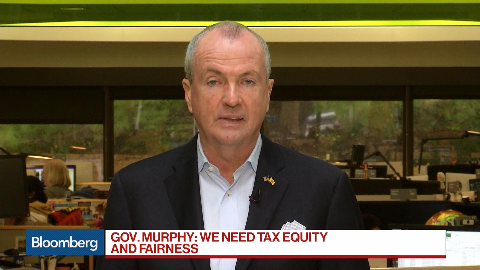 N.J. Governor Murphy on Tax Policy, Pension Reform and NJ Transit