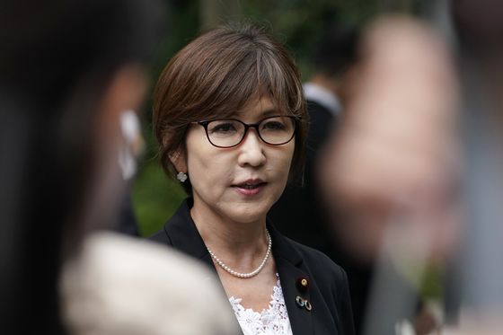 Only a Crisis Will Make Room for Women Atop Japan's Ruling Party, Ex-Minister Says
