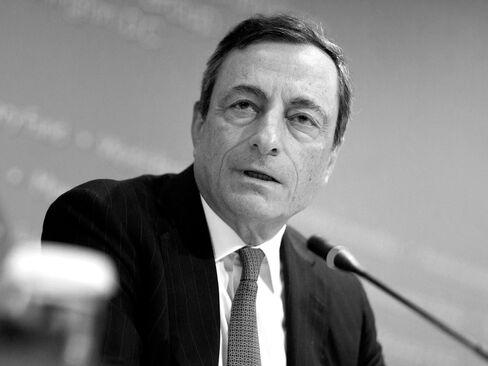 ECB Chairman Mario Draghi.