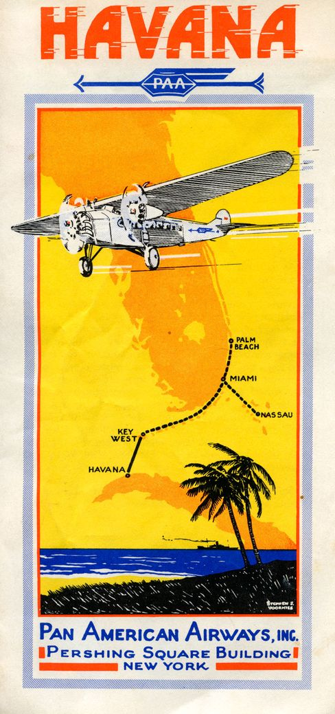 The Air-Way to Havana, Pan American Airways.