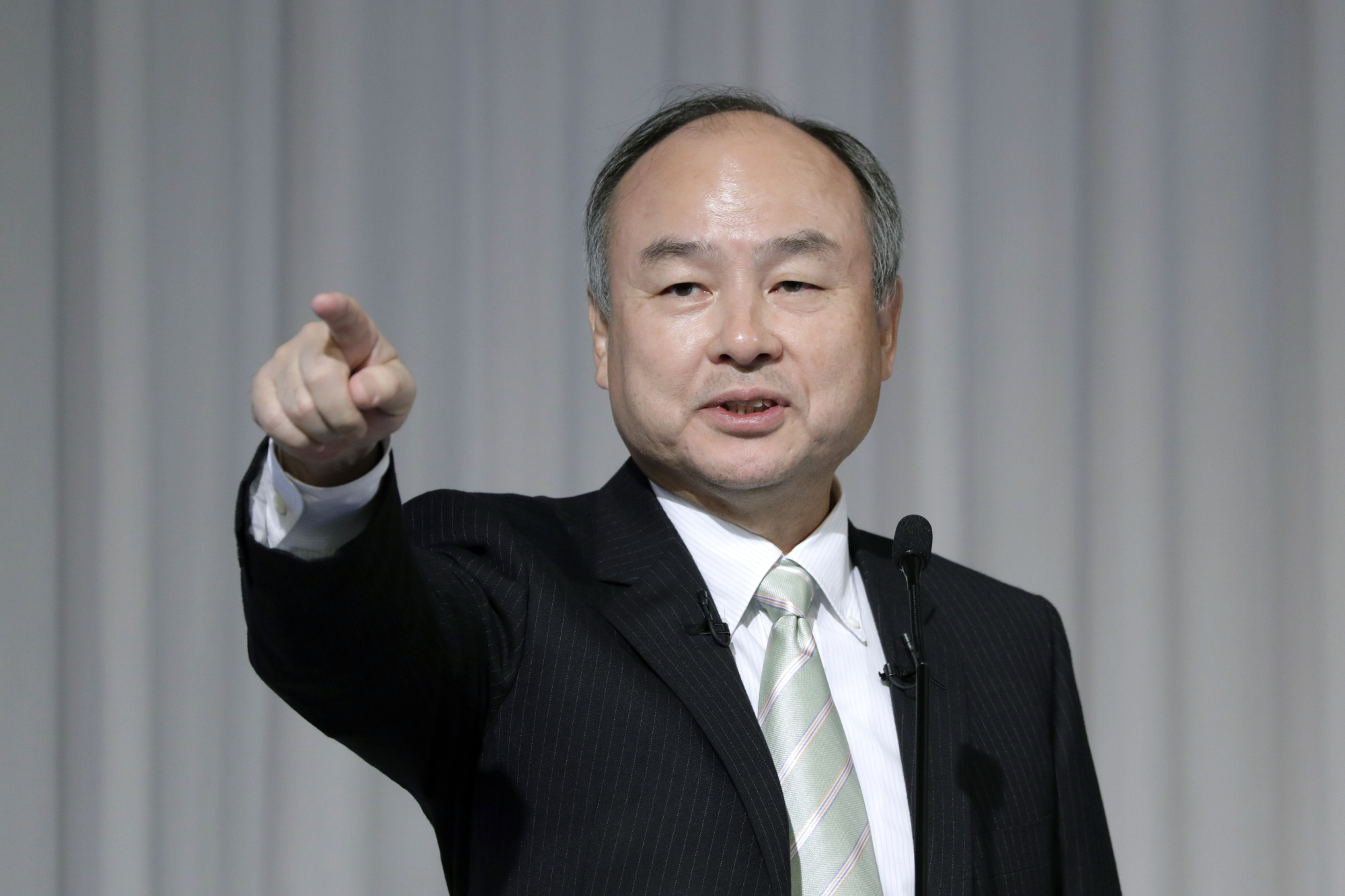 SoftBank CEO Masayoshi Son Presents Third-Quarter Results