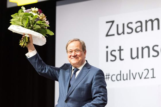 Merkel's Heir Bolsters Bid for Chancellorship With State Win