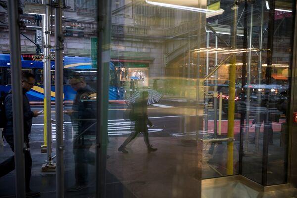 Manhattan As U.S. Stocks Slump On Mideast Flare-Up