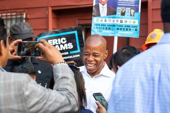 Wall Street Sees Friend in Adams as NYC Mayoral Race Narrows