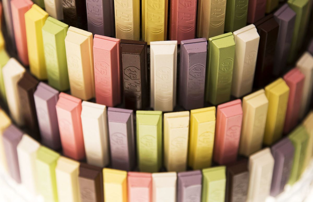 Demand for Exotic Kit Kats Is So High Nestle's Building a New Plant