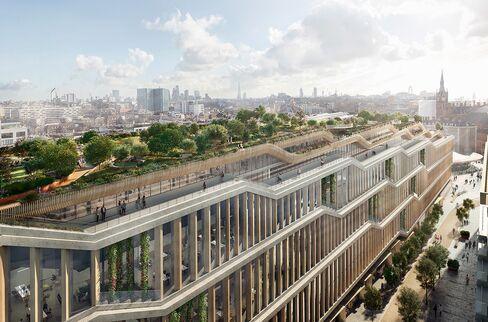 グーグルの新しい英国本社ビル(ロンドン)