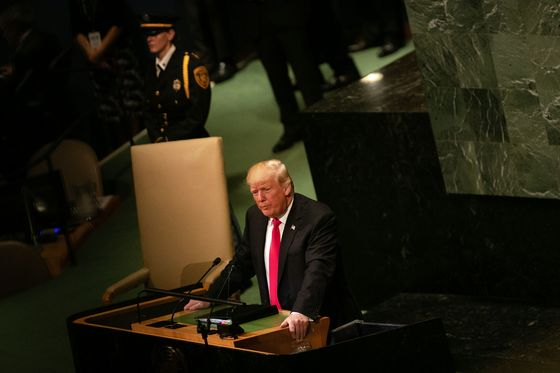 How an Isolated Trump InsultedAllies andDismissed the World at UN