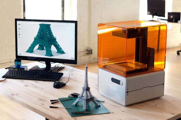 FORM 1: A 3D Printer for Your Home Office