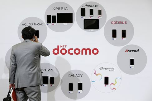 DoCoMo Smartphones and Tablets