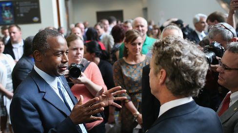 Republican Presidential Hopefuls Meet With Potential Iowa Voters
