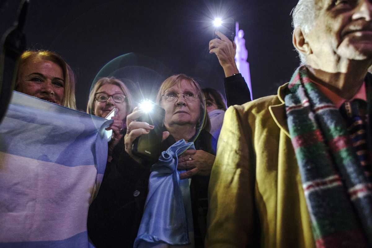 Argentines Reflect on Last Week's Election Results, Market Shock