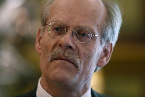 Riksbank Governor Stefan Ingves