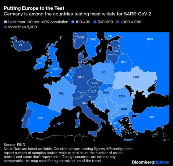 Meticulous and Orderly, Germany Can Handle a Pandemic
