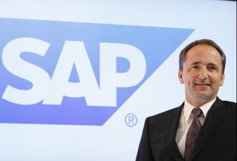 SAP AG Co-Chief Executive Officer Jim Hagemann Snabe