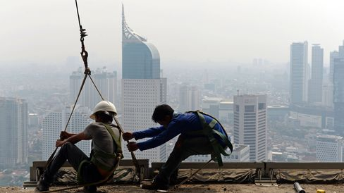 Construction in Indonesia