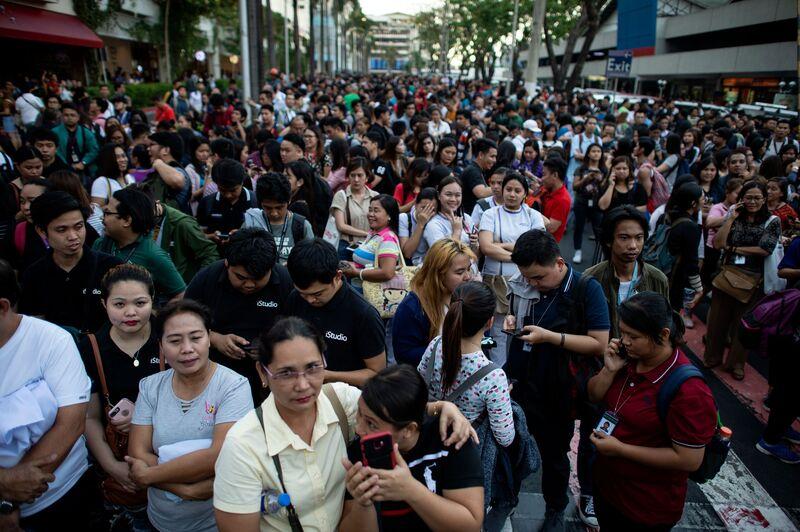 PHILIPPINES-EARTH QUAKE