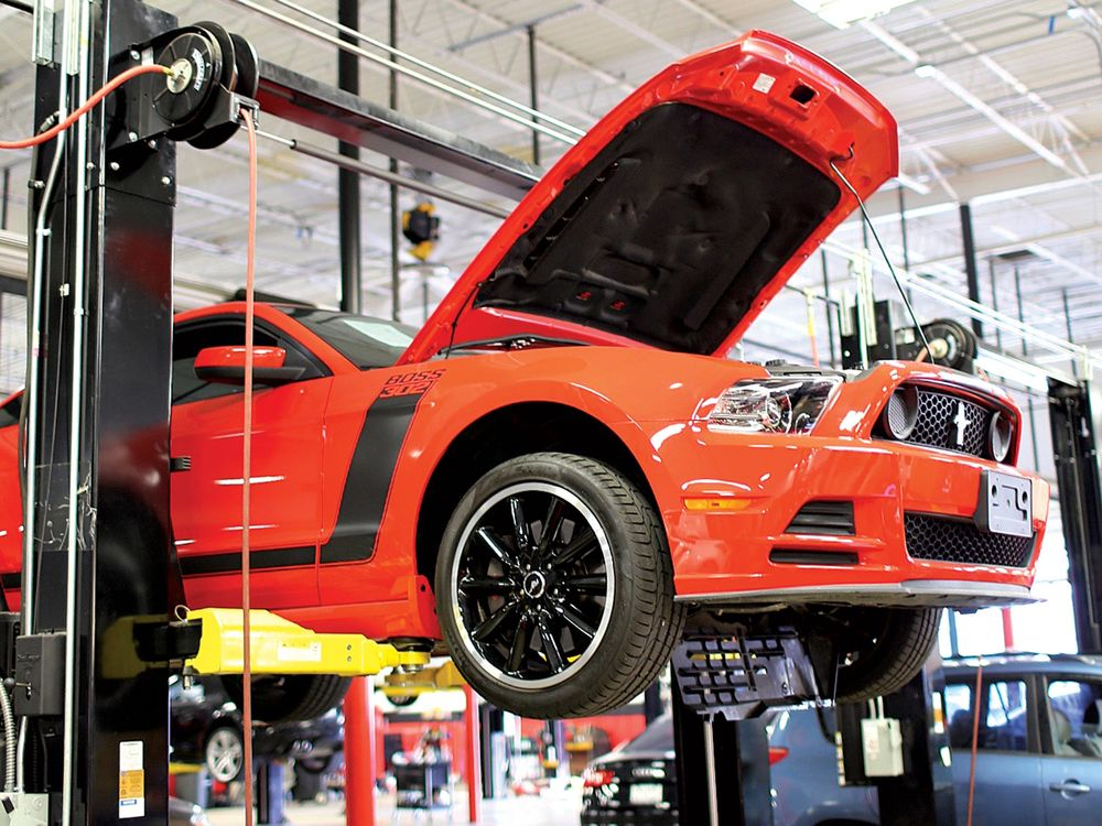 At Its Houston Facility Vroom Preps A Ford Mustang For