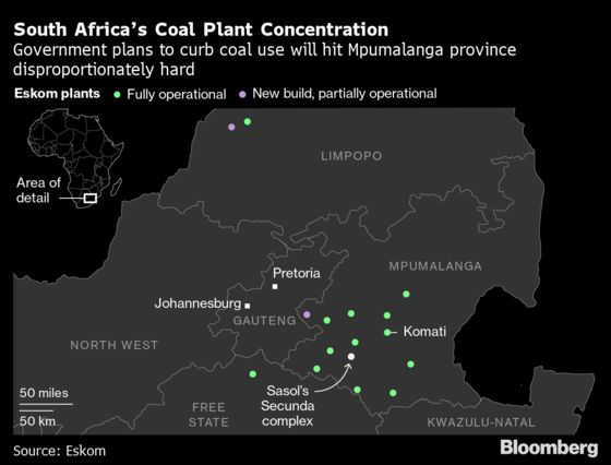Upheaval Is ComingtoSouth Africa Over the ShiftAway From Coal