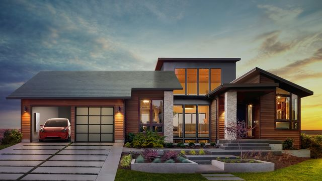 Tesla's New York Gigafactory Kicks Off Solar Roof Production