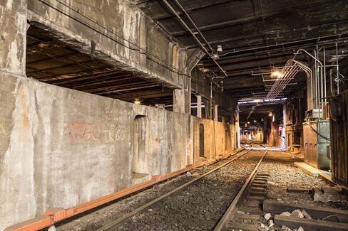 The secret station underneath the Waldorf Astoria.