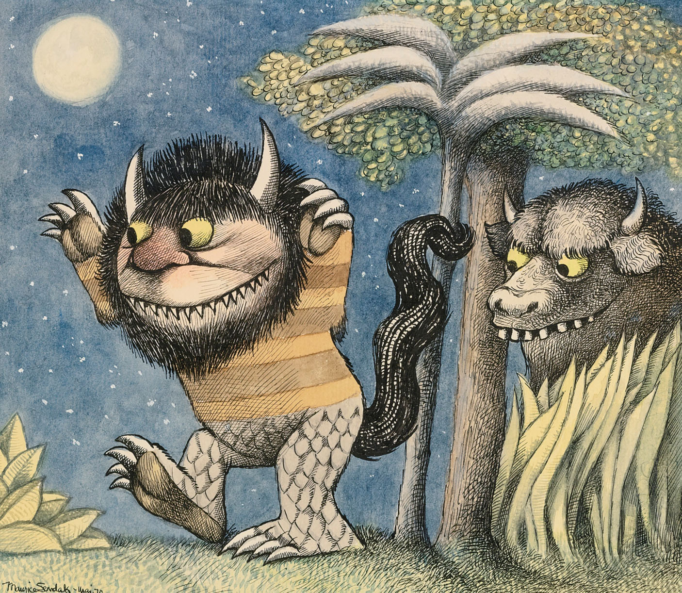 Original Art from 'Where the Wild Things Are'
