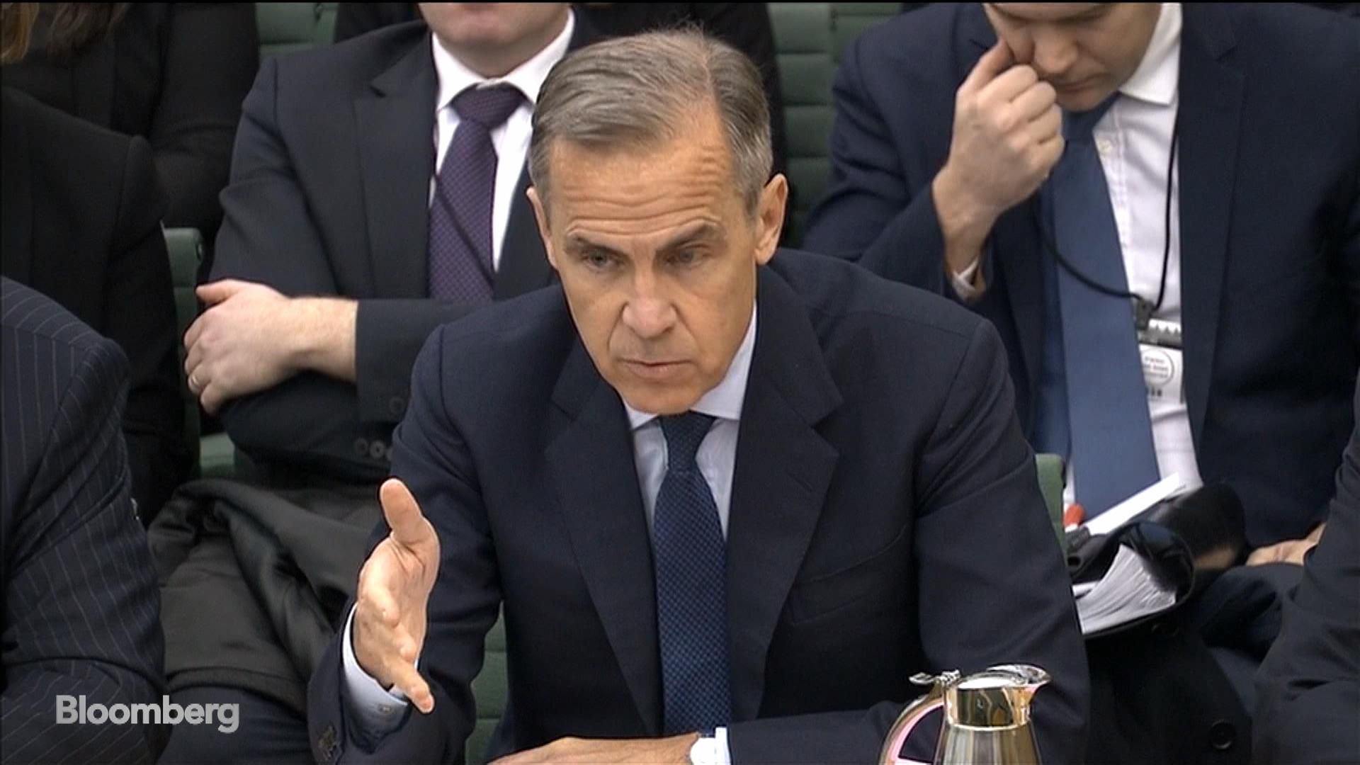 Carney Says BOE Discussing No-Deal Brexit Powers With Treasury