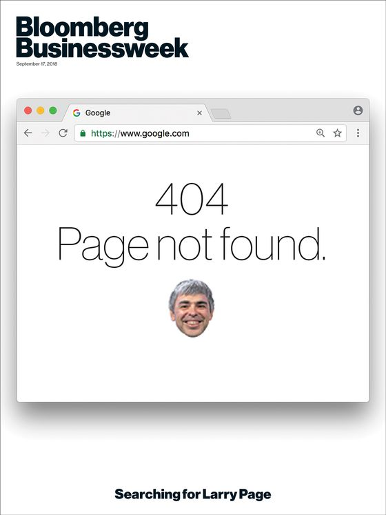 Where in the World Is Larry Page?