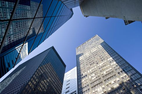 NYC Office Leasing Lowest Since 2009 as Wall Street Cuts Back