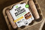 A package of Beyond Meat Inc. plant-based sausage
