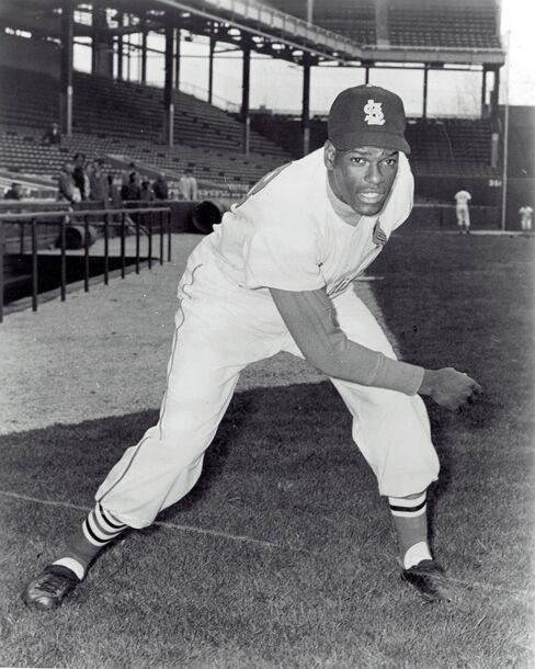 Hall Of Fame Pitcher Bob Gibson